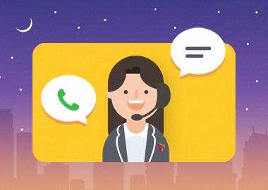 365일 연중무휴 카카오톡 채팅상담 서비스